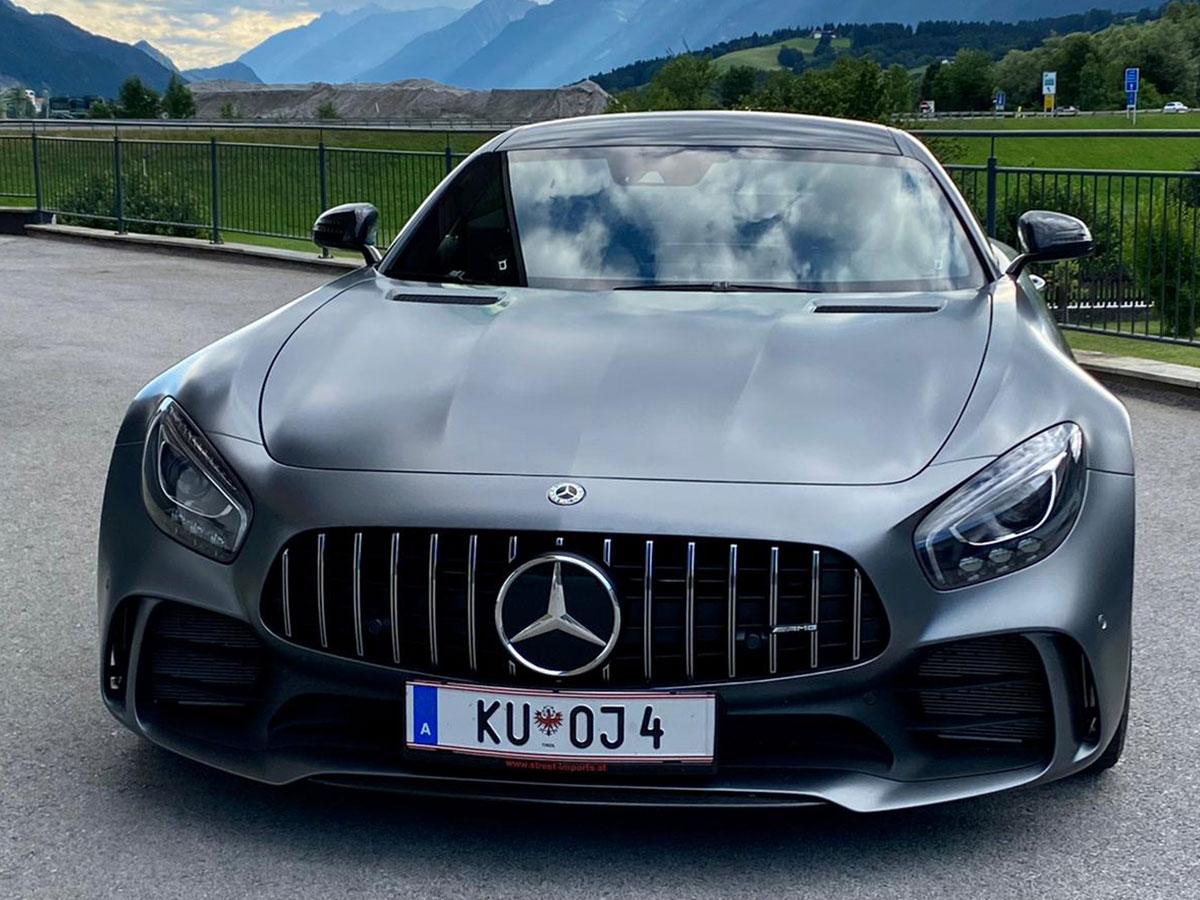 Mercedes AMG GTR mieten