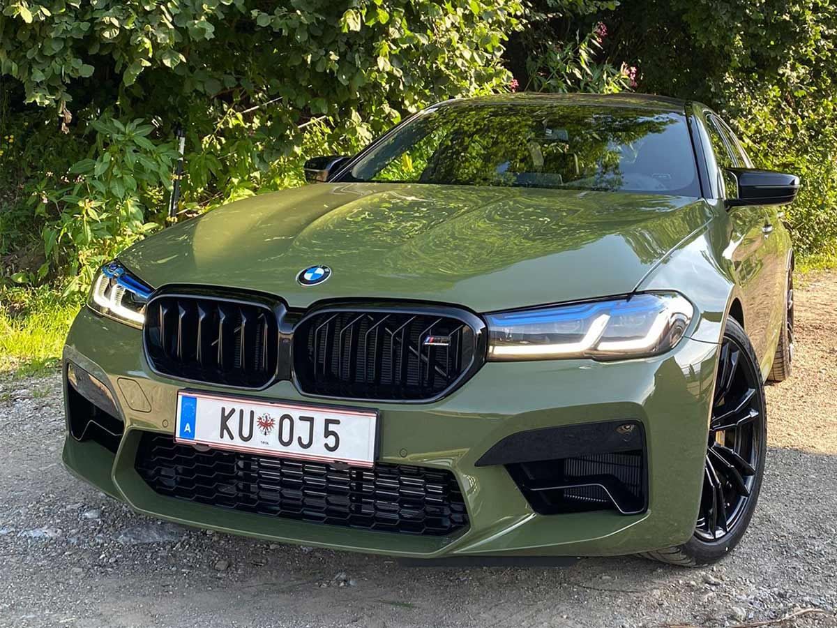 BMW M5 competition mieten